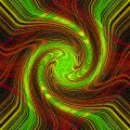 Swirled Background Stock Photography