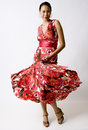 Swirling Dress Stock Images