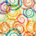 Swirls seamless background Royalty Free Stock Photo