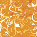 Swirls seamless pattern. Stock Images