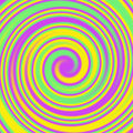 Swirls and Twirls Abstract Colorful Background Royalty Free Stock Photo