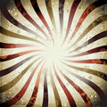 Swirly Grunge Sunburst Royalty Free Stock Image
