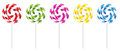 Swirly Lollipop Stock Image