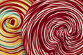 Swirly lollipop background Royalty Free Stock Photo