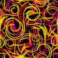 Swirly seamless background Stock Photography