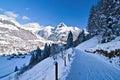 Swiss Alps Royalty Free Stock Photo