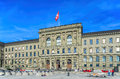 Swiss Federal Institute of Technology building Royalty Free Stock Photo