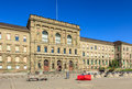 Swiss Federal Institute of Technology in Zurich building Royalty Free Stock Photo