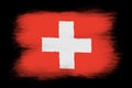 The Swiss flag Royalty Free Stock Photo