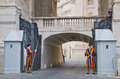 Swiss guards Royalty Free Stock Photo