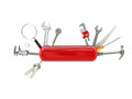 Swiss knife tool Royalty Free Stock Photo