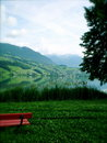 Swiss Landscape Royalty Free Stock Photos