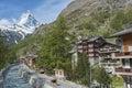 Swiss landscape Royalty Free Stock Photo