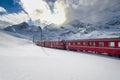 Swiss Mountain Train Bernina E...