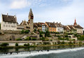 Swiss old town Bremgarten Royalty Free Stock Photo