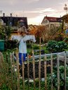 Casa jardín en