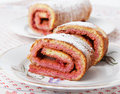 Swiss roll Royalty Free Stock Photos