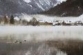 Swiss Village Royalty Free Stock Photo
