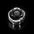 Swiss watches on black background product photography Stock Image