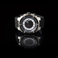 Swiss watches on black background product photography Royalty Free Stock Images