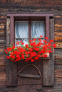 Swiss window Stock Photos