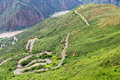 Switchback Highway in Chicamocha Canyon