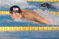 Swm world aquatics championship mens m butterfly final jul rome italy michael phelps usa competing in the the race was won by Stock Photos