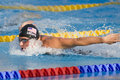 Swm world aquatics championship mens m individual medley f jul rome italy ryan lochte usa on his way to winning the at the th fina Royalty Free Stock Photography
