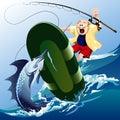 Swordfish attack