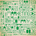Swot Analysis tag cloud Royalty Free Stock Photo