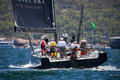 Sydney to Hobart yacht race 2016 Royalty Free Stock Photo
