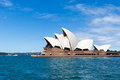 Sydney australia march side view of sydney s most f famous icon the opera house on in Royalty Free Stock Photos