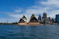 Sydney australia march side view of sydney s most famous opera house icon the on in Stock Images
