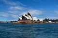 Sydney australia march side view of sydney s opera house most famous icon the on in Royalty Free Stock Photo