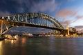 Sydney Harbor At Night