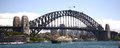 Sydney harbour bridge Australia Royalty Free Stock Photo