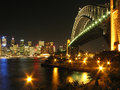 Sydney Harbour Bridge - Sydney, Australia Stock Photography