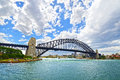 Sydney harbour bridge tourist landmark of australia Royalty Free Stock Photos