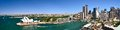 Sydney Harbour Pano Royalty Free Stock Photo