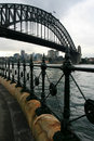 Sydney Harbour Path Stock Image