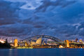 Sydney Harbour Twilight Stock Photo