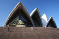 Sydney opera house the in australia Royalty Free Stock Image