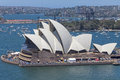 Sydney opera house an image of the beautiful architecture Royalty Free Stock Photography