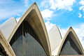 The sydney opera house march on march in australia is among busiest performing arts Royalty Free Stock Photography