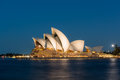 Sydney Opera House at night Royalty Free Stock Photo