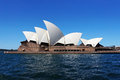Sydney opera house picture of an iconic building of Royalty Free Stock Photos