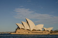 Sydney opera house side view of s most famous icon the Stock Image