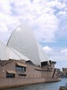 Sydney opera house view of a detail of the in australia photo taken on december Royalty Free Stock Images