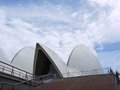 Sydney opera house view of a detail of the in australia photo taken on december Stock Images