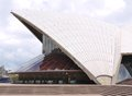 Sydney opera house view of a detail of the in australia photo taken on december Royalty Free Stock Photo